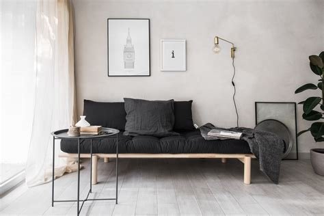 Apartment Living Room Ideas by New Studio S Look With The Stylish Daybed From Karup