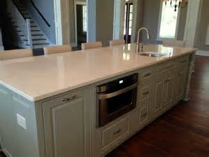 kitchen island with microwave island with built in microwave drawer