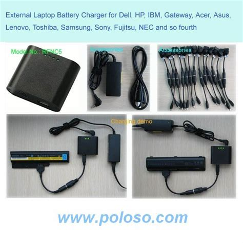 Usb Port Acer 4710 poloso external laptop battery charger with usb charger