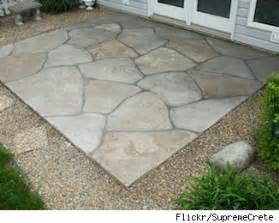 sand and cement calculator for patio want a patio try sted concrete as a low cost alternative