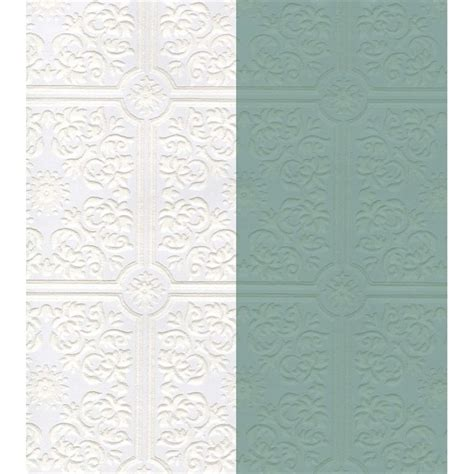 Paintable Ceiling Tiles by Discount Wallcovering Paintable Tin Ceiling Tile Wallpaper