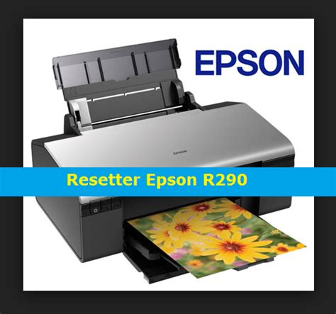 Epson R290 Resetter Program | resetter epson r290 r295 adjestment program setup