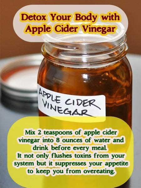 Dr Oz Detox Drink Apple Cider Vinegar by 206 Best Images About Health Apple Cider Vinegar