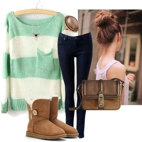 themes for cute or boot cute winter outfit for school or just shopping outfit