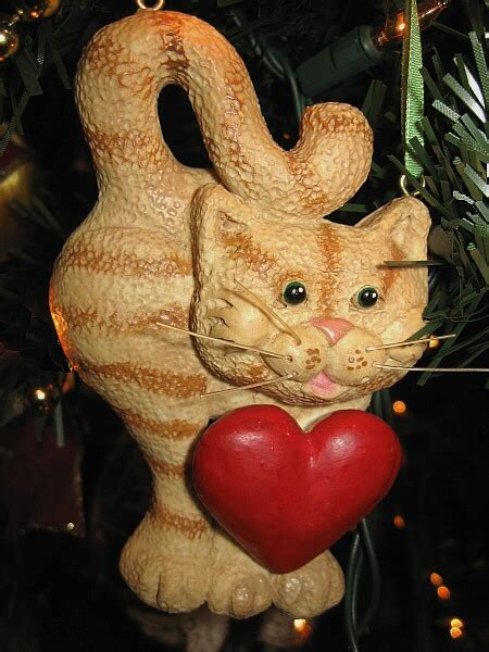 hallmark cat ornaments resin cat ornaments 2