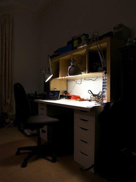 electronics workbench  ikea storage drawers ikea