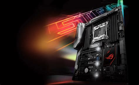 Slots Pch Com - rog strix x99 gaming motherboards asus global