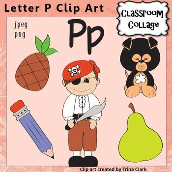 colors that start with p alphabet clip letter p items start with p color