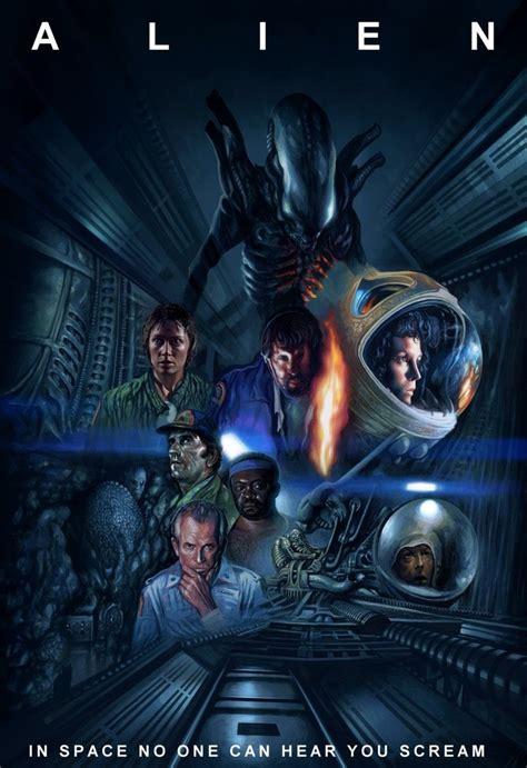 fantasy film vs cellophane alien the 8 176 passeger animated movie poster science