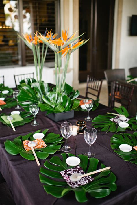 How to Host a Tropical Dinner Party