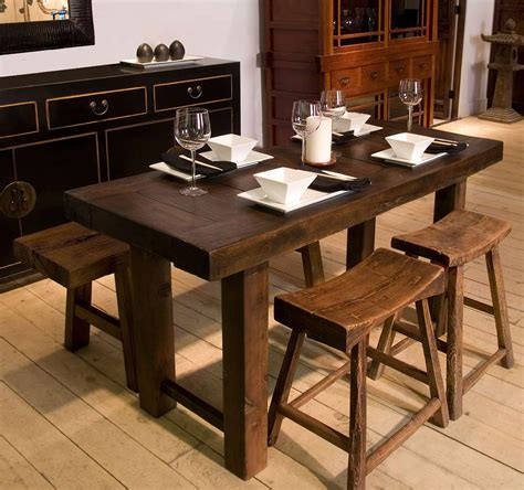 Rustic Kitchen Tables For Sale Small Rectangular Dining Tables Tokyo Drop Leaf Rectangle Dining Table By Matrix Dining With