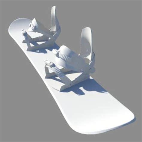 dimensioni tavola snowboard uno snowboard da una stante 3d stare in 3d