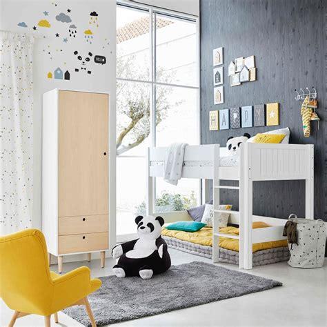 Attrayant Chambre Pour Garcon 10 Ans #1: chambre-enfant-noir-blanc-2-1024x1024.jpg
