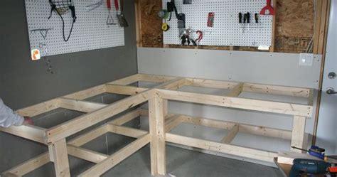 built dad tough workbench plans workbench designs  woodwork