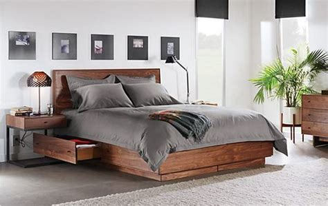 Room And Board Bed by Organize Your Home With Compact Yet Comfortable Storage Beds Hometone