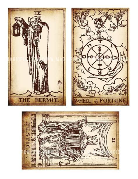 printable tarot cards pdf antique printable tarot pdf digital collage sheet altered