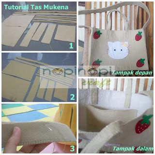 tutorial tas mukena nopinopicraft tutorial membuat tas mukena