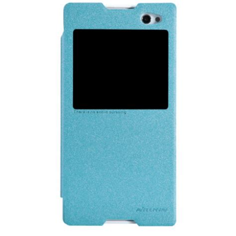 nillkin sparkle series new leather for sony xperia c3 s55t