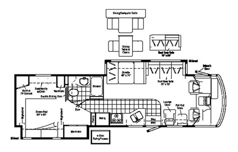 Dream Home Plan 2005 Winnebago Adventurer 35u Used Motorhomes And Rvs