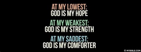 god our comforter god is my hope strength comforter facebook cover photo