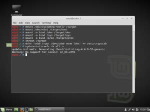 ubuntu manual encrypted lvm installing linux mint ubuntu desktop edition with full