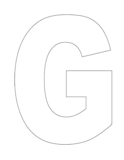 Best 25 Letter G Ideas On Pinterest Letter G Crafts Animal Letters And Letter Crafts Letter Template Pages