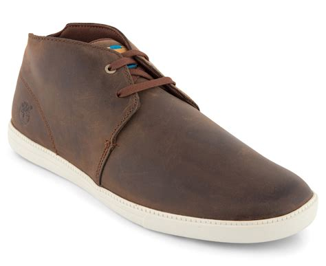 Sr011 Daily Top Brown timberland s fulk mid top leather chukka boot brown great daily deals at australia