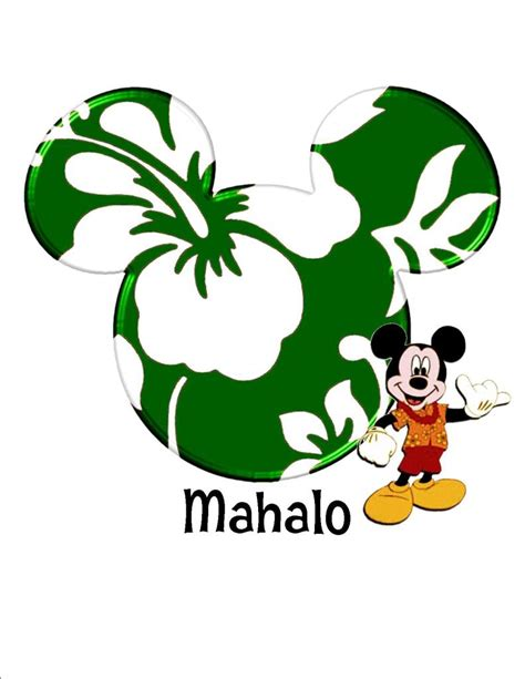 ukuleles from mickey friends luau inspired printable free mahalo cliparts download free clip art free clip