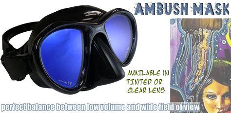 Masker Freedive ambush freedive mask neptonics