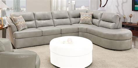 couch sec global furniture usa 9509 sectional sofa bonded leather