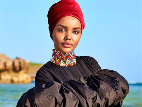 halima aden appears   sports illustrated swimsuit
