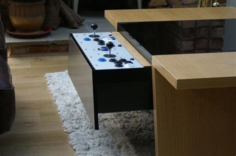 Arcade Coffee Table Surface Tension Arcade Coffee Table Gadgetsin