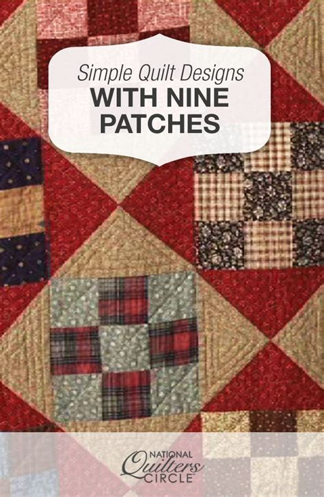 Make Your Own Patchwork Quilt - best 20 nine patch quilt ideas on