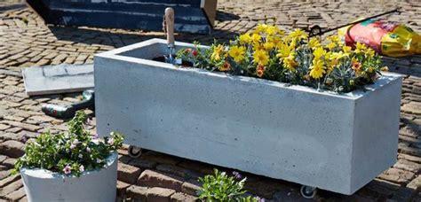 Zelf Plantenbak Maken by Plantenbak Beton Maken Voordemakers Nl