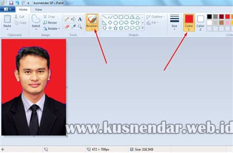 cara edit foto di photoshop laptop cara ganti background foto dengan paint kusnendar