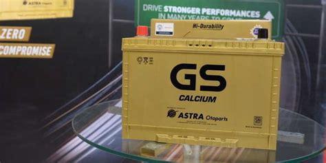Baterai Gs gs calcium produk aki bebas perawatan dengan daya besar