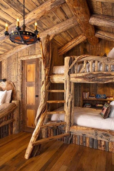 rustic log home decor 1000 images about boys rustic bedrooms on pinterest