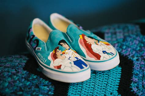 the mermaid slippers it should be obvious why i these custom painted