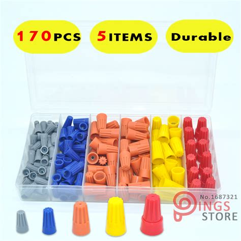 wire nut manufacturers aliexpress buy 170pcs kit wire twist nut connectors