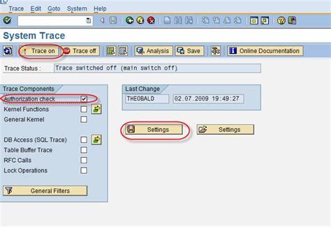 tutorial sap abap authority check trace in sap abap tutorials