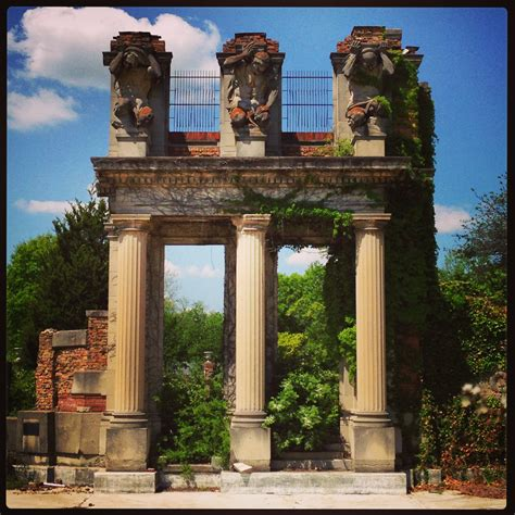 park indianapolis karl bitter elmer taflinger and the holliday park ruins historic indianapolis