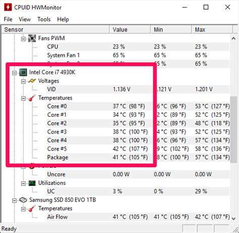 cpu fan temp monitor how to monitor your computer s cpu temperature on windows