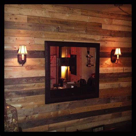 Diy Building Kitchen Cabinets Pallet As Wall Decoration 1001 Pallets