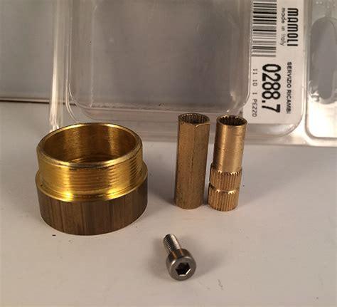rubinetto mamoli prolunga rubinetto fuente incasso 1cm 0288 7 mamoli bagno