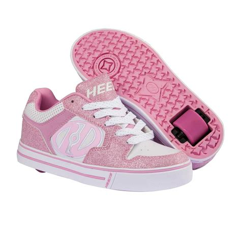 heelys shoes heelys motion shoes pink white free uk delivery on