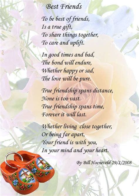 poems for your best friend 30 strong friendship poems