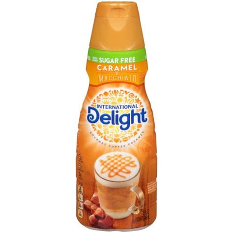 International Delight Coffee Creamer International Delight Sugar Free Caramel Macchiato Coffee