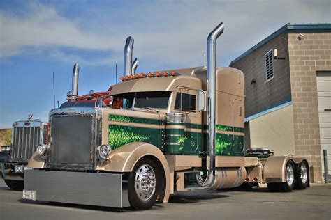 peterbilt show trucks 75 chrome shop pride polish winners disorderly conduct