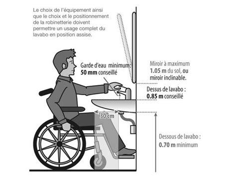 plan de travail angle 3179 r 233 glementation lavabo pmr accessibility