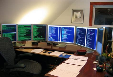 Programmer Desk Setup Awesome Home Office Desk Setup Pictures